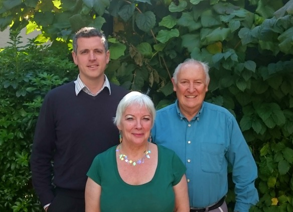 Simon Hogg, Wendy Speck and Tony Belton, Latchmere's Labour councillors