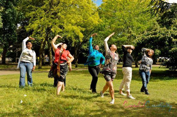 WoW Mums outdoor fitness class