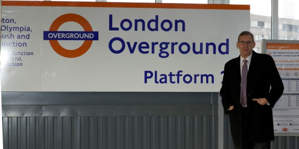 Martin Linton on Platform 2 at Clapham Junction: The long wait for an Overground train is over!