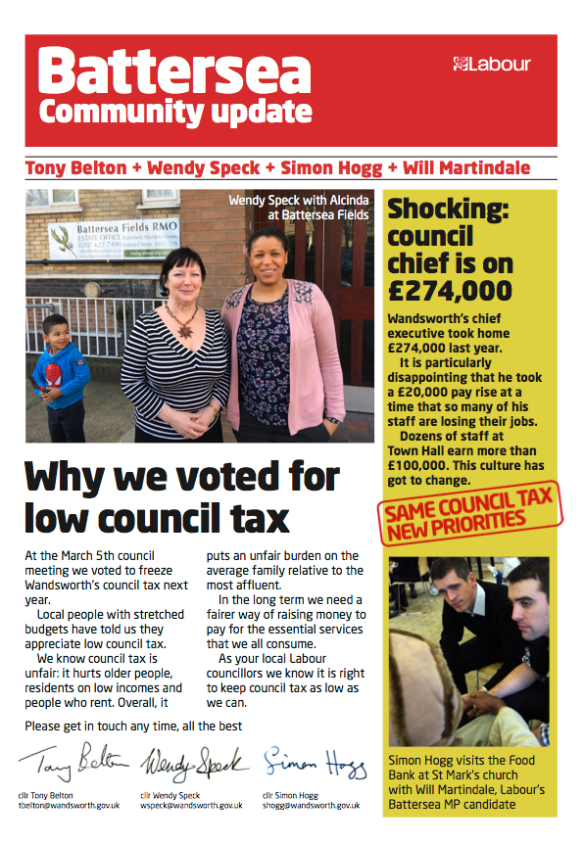 Why we voted for low council tax