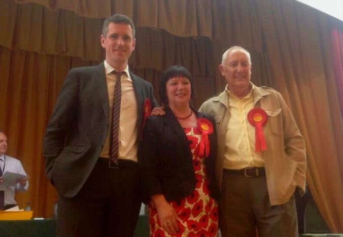 Wandsworth Town Hall, 3.30am: Latchmere Ward result is announced