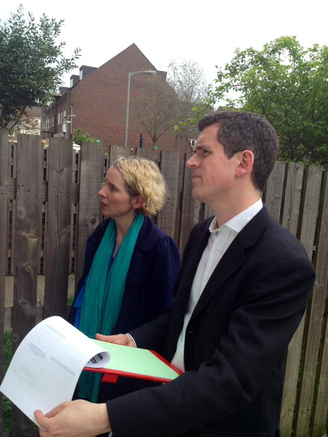 Shadow Housing Minister Emma Reynolds MP visits Battersea to listen to local people about renting and trying to buy a home