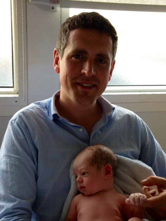 June: Adam Hogg born in St George's Hospital, Tooting