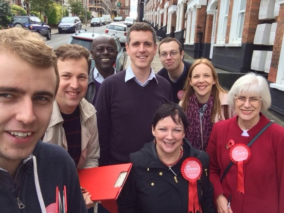 September: Battersea Labour Party volunteers are out every week of the year listening to local people