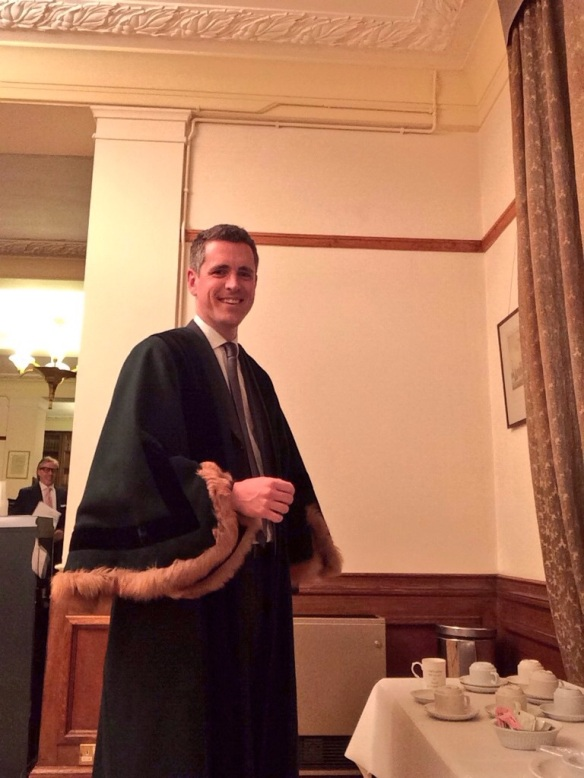 October: Dressed up ready to preside over my first citizenship ceremony in Wandsworth Town Hall. I welcomed new British citizens from America, Russia, Ethiopia, Libya, Pakistan, South Africa and New Zealand