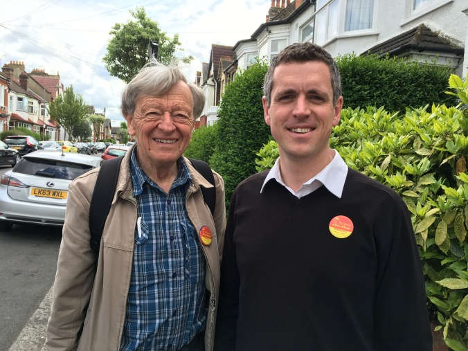 Simon Hogg and Alf Dubs